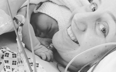 "Positive Birth Story – wonderful hypnobirthing induction for a ""big baby"""