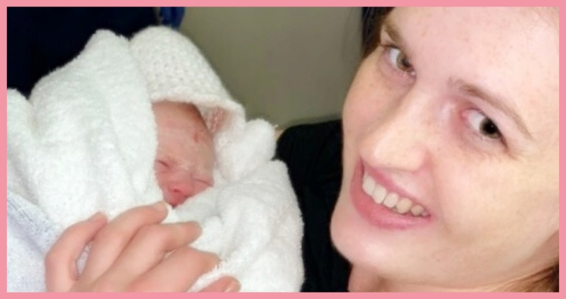 Positive Birth Story – first time mum and a speedy early arrival