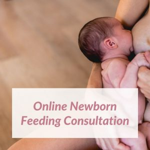 Consult with a private midwife about newborn feeding issues.