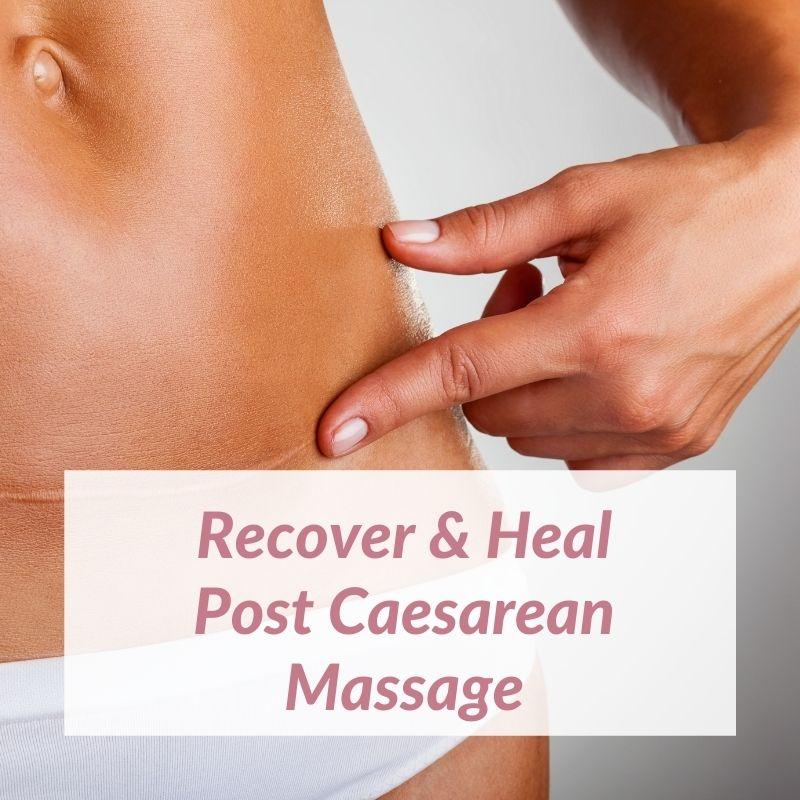 caesarean-massage
