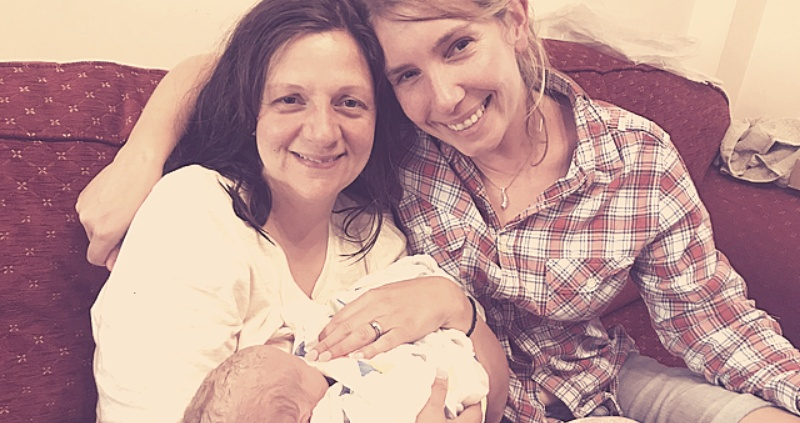 Surrogate birth story with an amazing home birth.